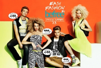 Рекламная кампания Befree весна-лето 2013