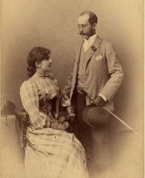 Родственники Одри по отцовской линии Anna Juliana Franziska Karolina Ruston and Victor John George Ruston