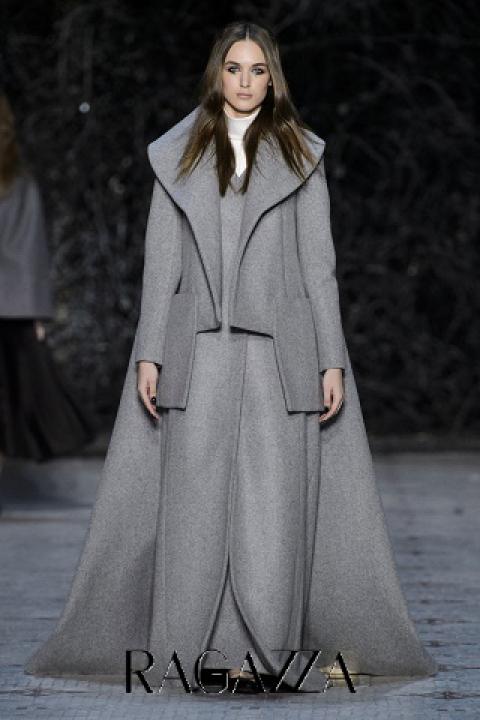 драповое пальто - весна 2016 Dice Kayek