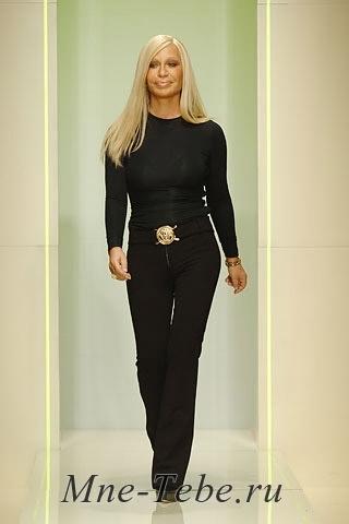 Donatella Versace Biografija